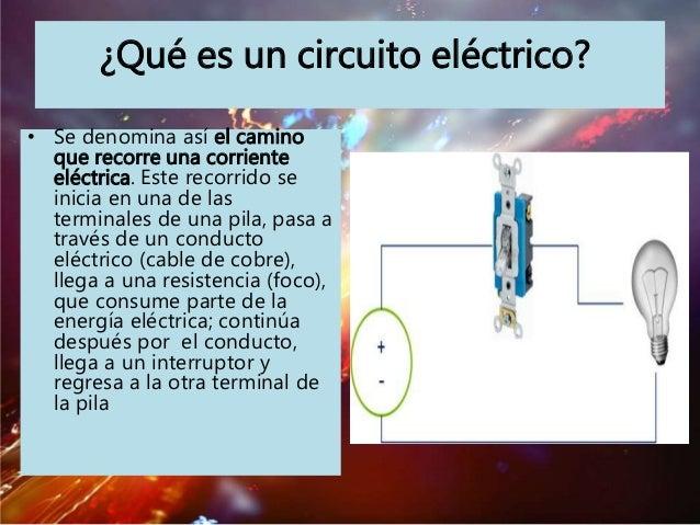 Circuito Que Es : Circuito electrico listo