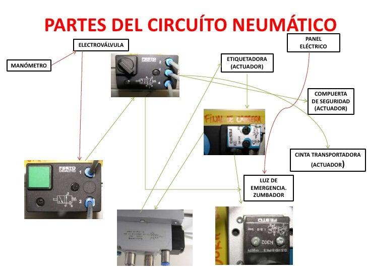 Circuito Neumatico : Circuito electrico y neumático
