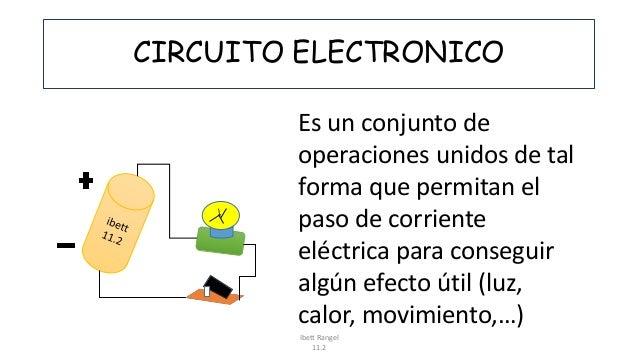 Circuito Electronico : Circuito electronico