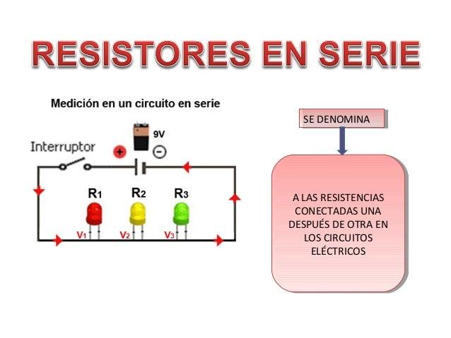 Circuito Electrico En Serie : Circuito en serie y paralelo