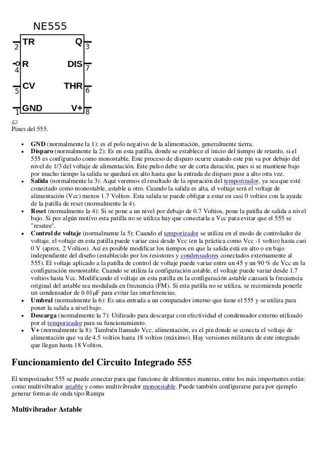 Circuito integrado 551 Slide 3