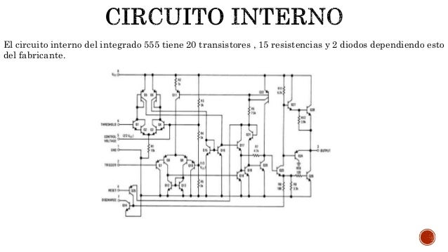 circuito integrado de 555