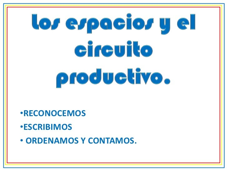 Circuito Productivo Del Pan : Circuito productivo para primer grado