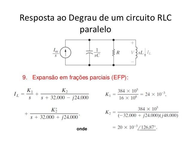 Circuito Rlc Serie Exercicios Resolvidos : Circuitos ufmg interessante
