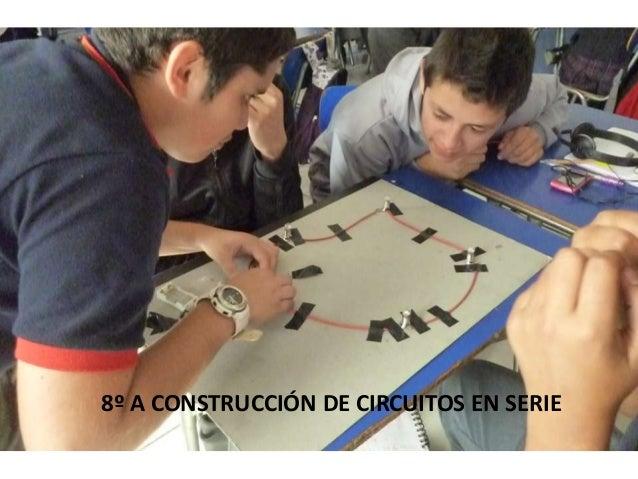 8º A CONSTRUCCIÓN DE CIRCUITOS EN SERIE