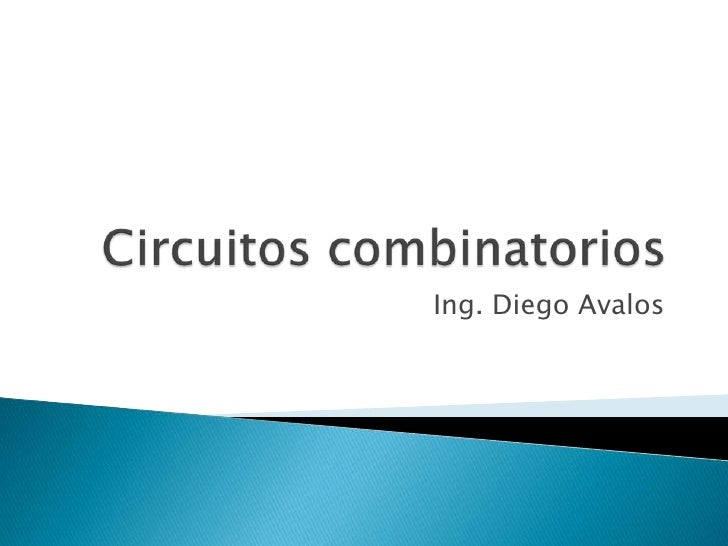 Ing. Diego Avalos