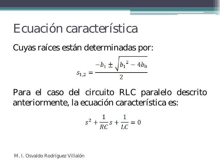 Circuito Rlc Ecuaciones Diferenciales : Circuitos de segundo orden