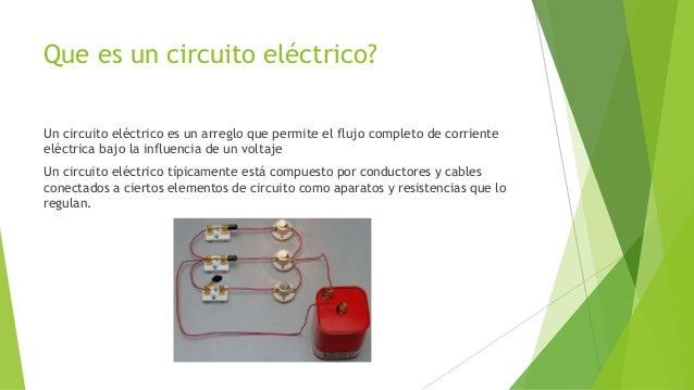 Circuitos eléctricos Slide 2