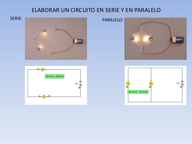 Circuito Paralelo Y En Serie : Circuitos electricos