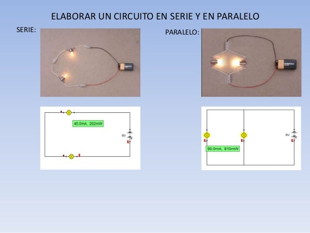 Circuito En Serie Y Paralelo : Circuitos electricos