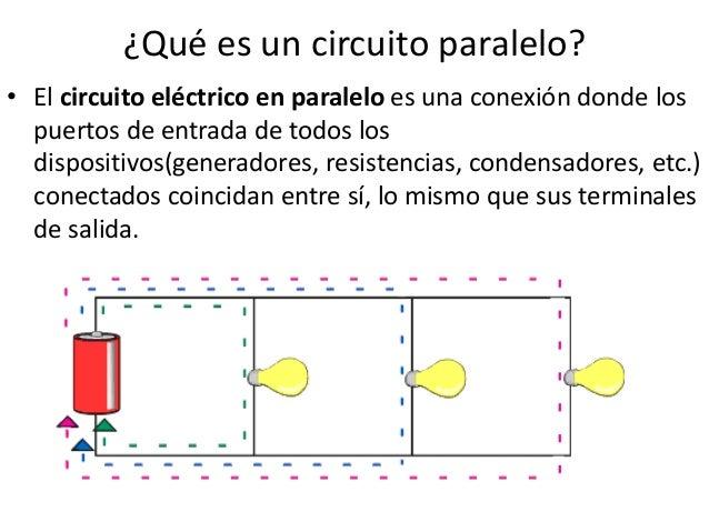 Circuito Paralelo : Circuitos electricos