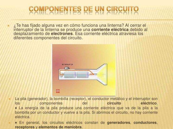 Circuito Que Tenga Un Interruptor Una Pila Y Una Bombilla : Circuitos electricos