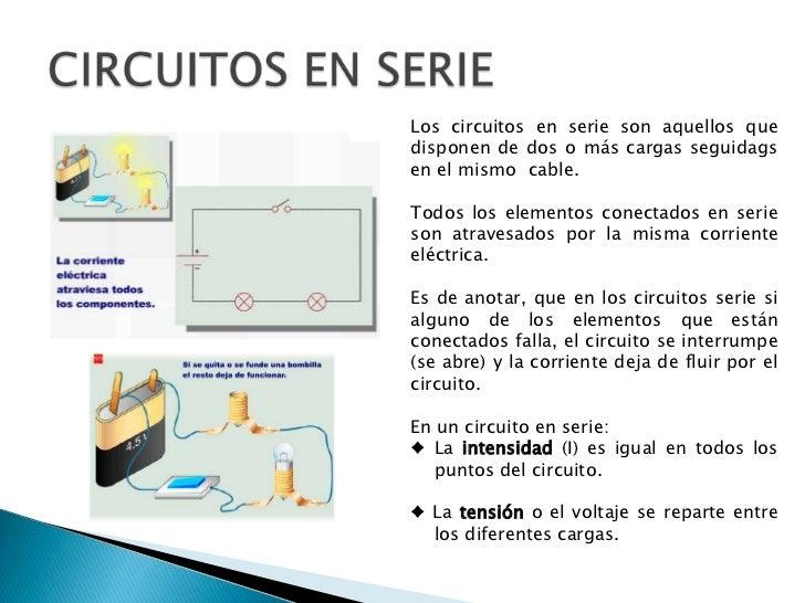 Circuito Y Sus Partes : Circuitos electricos y electronicos