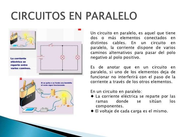 Circuito Que Es : Circuitos electricos y electronicos