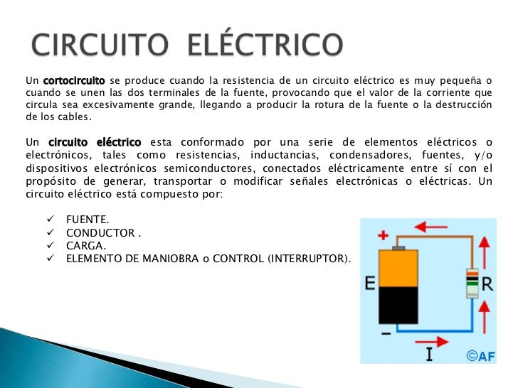 Circuito Significado : Circuitos electricos y electronicos