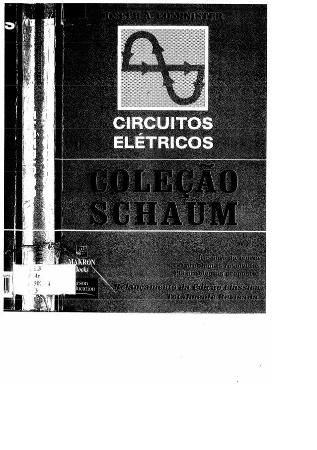 Circuitos elétricos   joseph a. edminister - coleção schaum