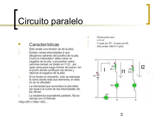 Circuito serie, paralelo y mixto