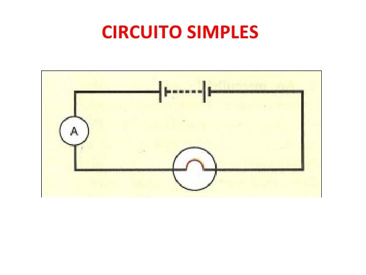 Circuito Simples : Circuito simples