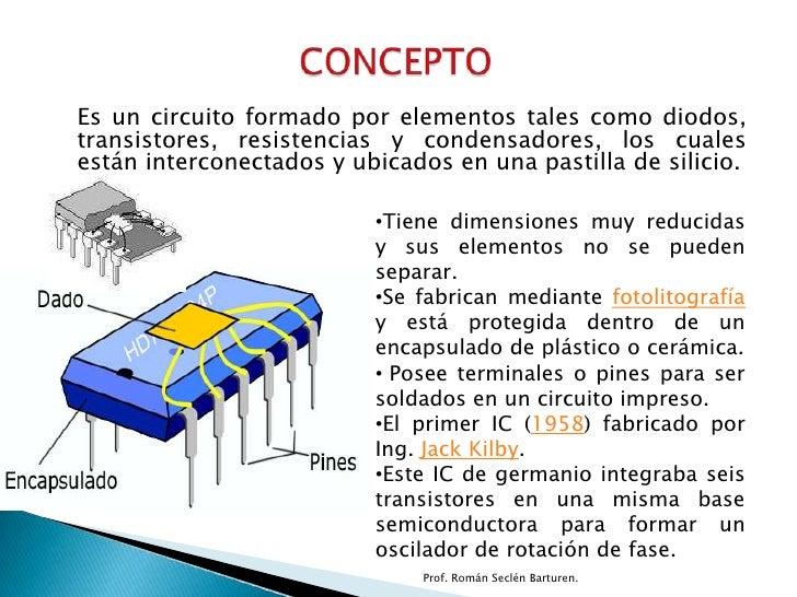 Circuito Integrado De Dimensiones Muy Pequeñas : Circuitos integrados