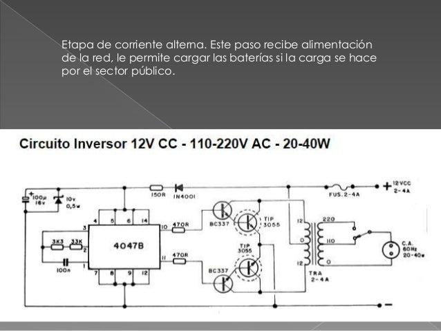 Circuitos inversores - Inversor de corriente ...