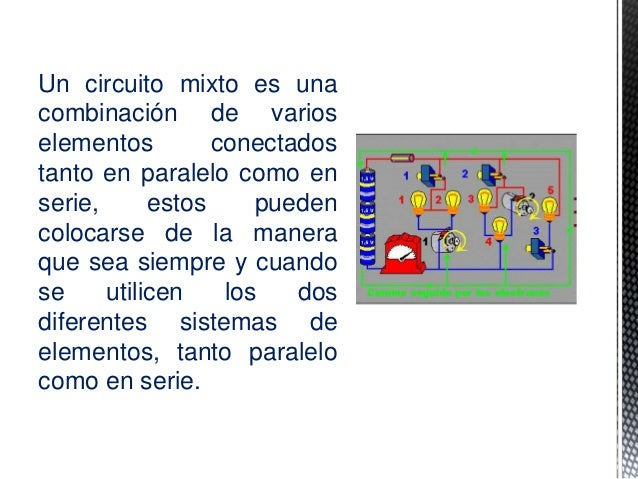 Circuito Yes : Circuitos mixtos jean pool indaburu y jefferson solis