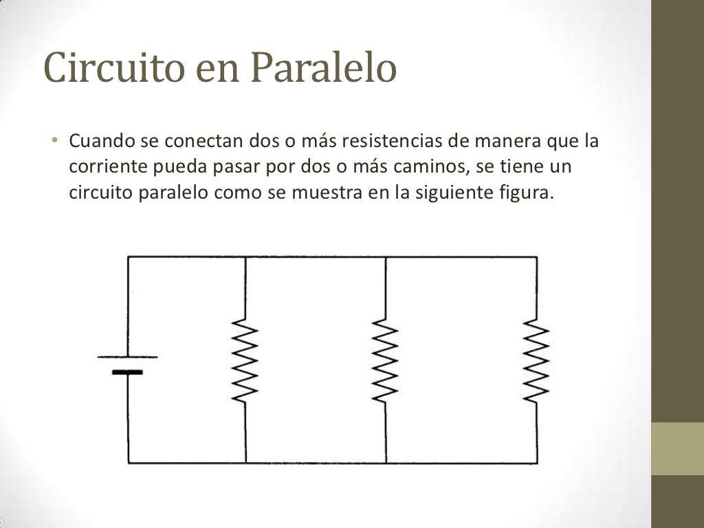 Circuito Paralelo : Circuitos paralelo