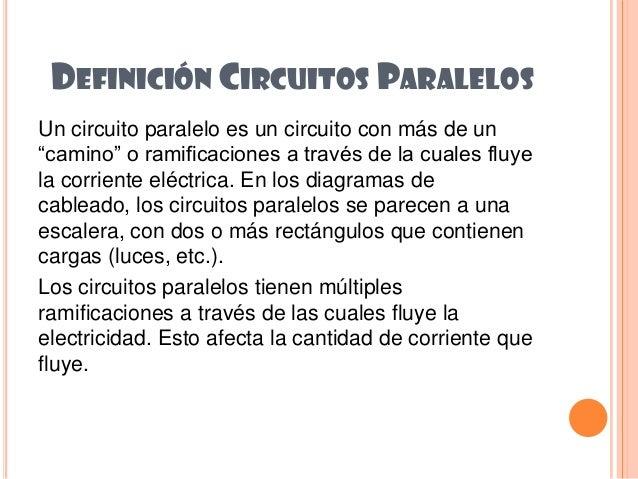 Circuito Significado : Circuitos paralelos pc