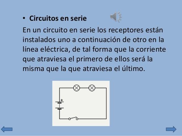 Circuito Significado : Circuitos serie y paralelo
