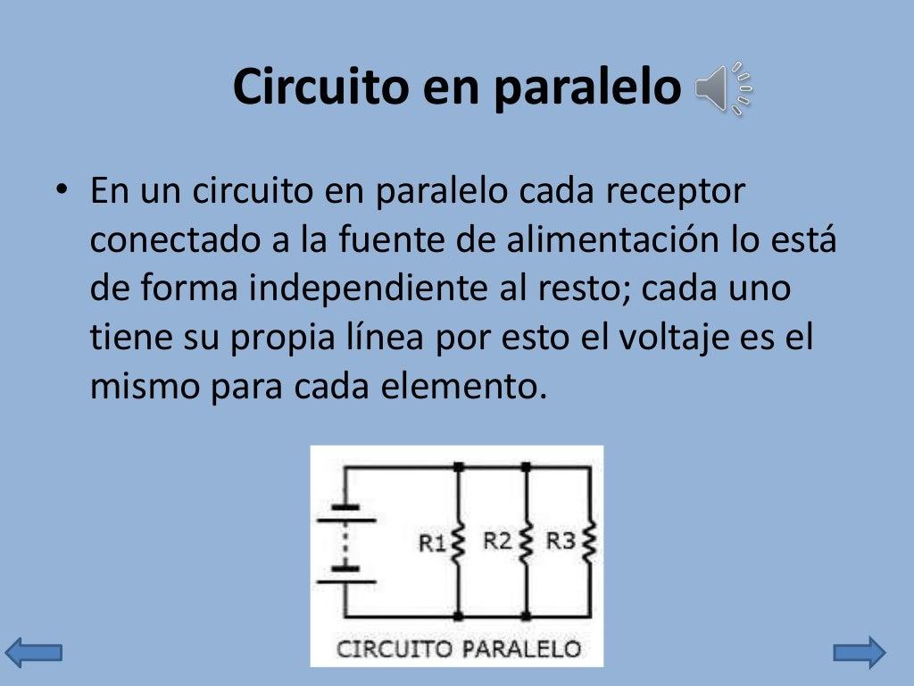 Circuito Paralelo : Circuitos serie y paralelo
