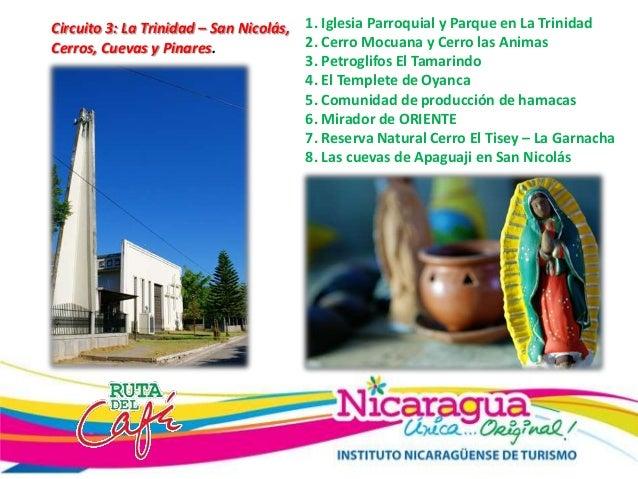 Circuito San Nicolas : Circuitos turisticos rdc dpt esteli