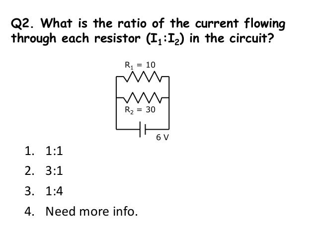 Ra Rb 1/Req = 1/Ra + 1/Rb Req is smaller than Ra and Rb 20 25 Req ≈ 10 1000 = 1k 2 Req < 2 Practically all the current flo...