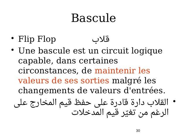 Circuits s quentiels v5 for Bascule logique