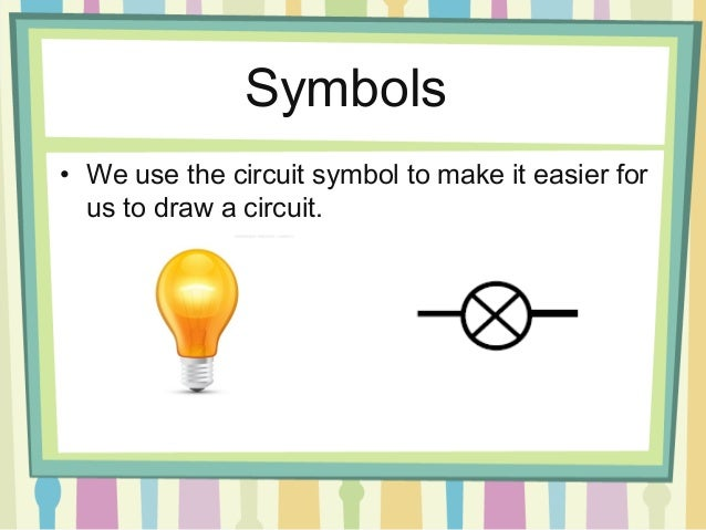 Circuit Symbols Dimmer And Brighter