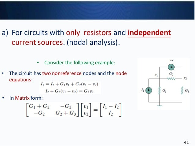 Circuit theory 1-c3-analysis methods