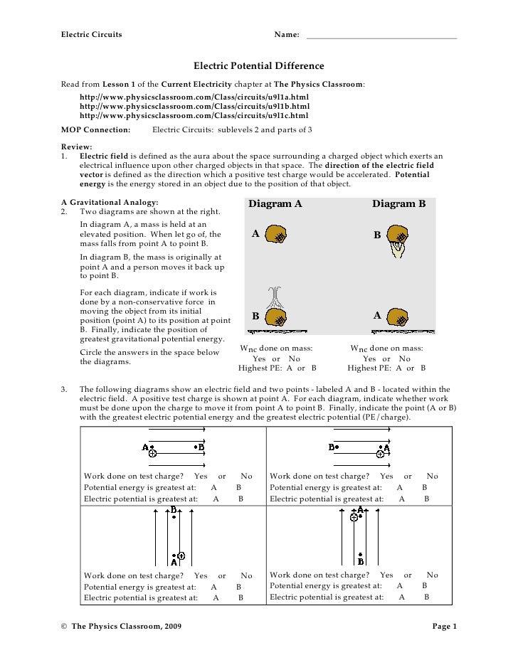 circuit worksheets rh slideshare net