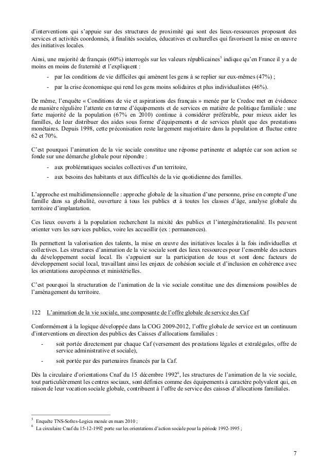 Circulaire Cnaf Avs N2012 013 Du 20 Juin 2012