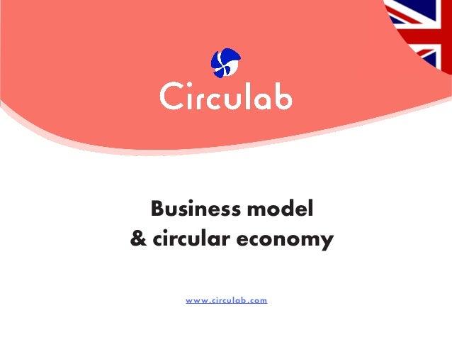 www.circulab.com Business model & circular economy