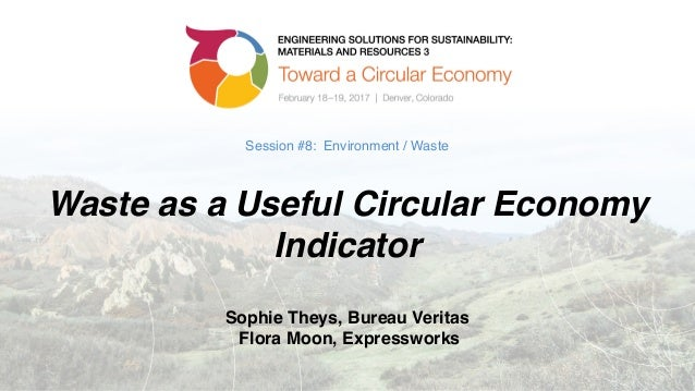 Session #8: Environment / Waste