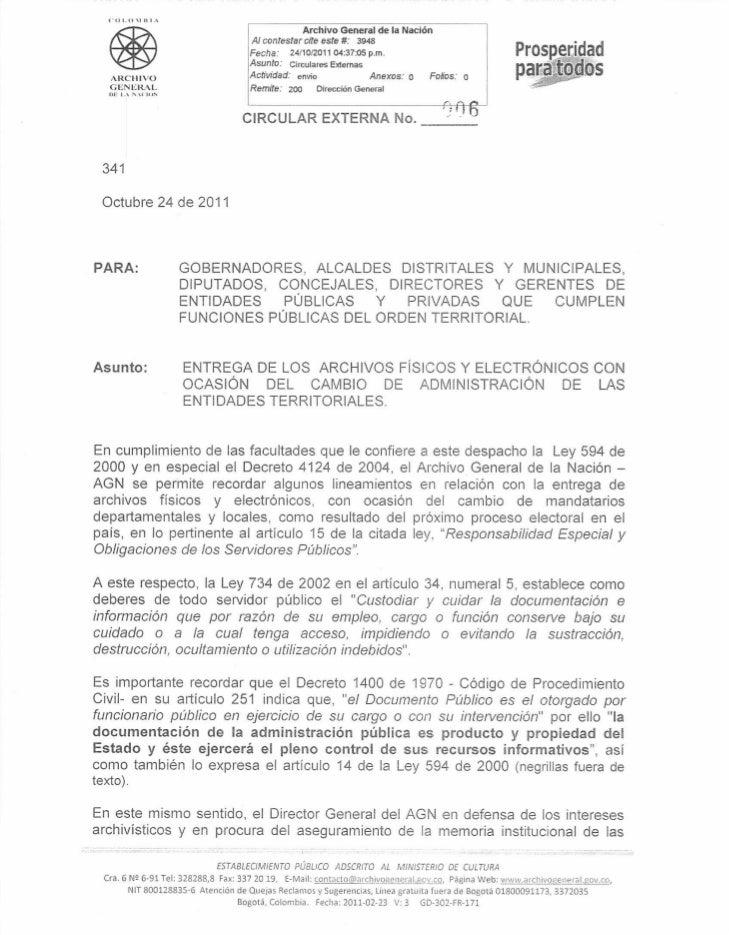 """t""""OI.O11l1,                                                               Archivo General de la Nación                    ..."""