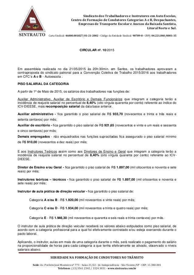 Sindicato dos Trabalhadores e Instrutores em Auto Escolas, Centro de Formação de Condutores Categorias A e B, Despachantes...