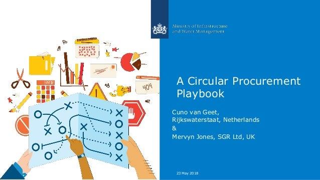 A Circular Procurement Playbook Cuno van Geet, Rijkswaterstaat, Netherlands & Mervyn Jones, SGR Ltd, UK 23 May 2018