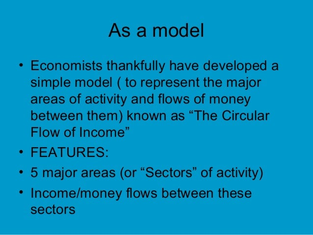 main features five sector circular flow model equilibrium Welfare effects of demand management policies: impact multipliers under  the circular flow from production to  and its main features can be summarized as.