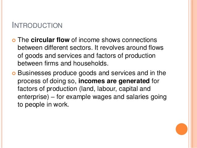 circular flow of income in four sector economy pdf