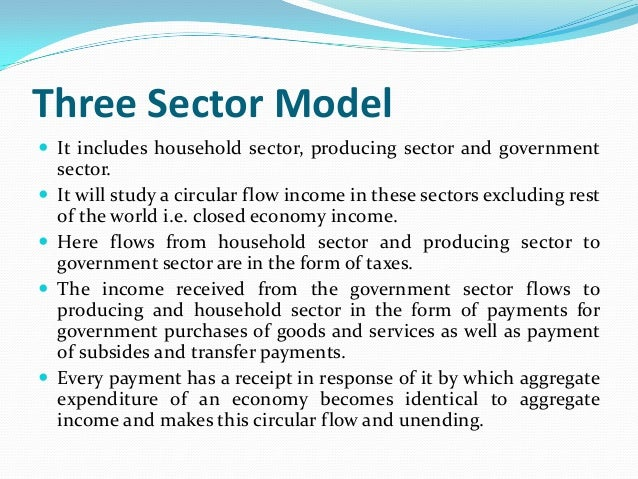 circular flow of income in two sector economy pdf