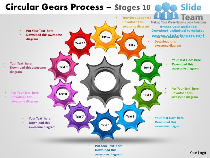 Circular gears process stages 10 powerpoint slides ppt templates circular gears process stages 10 toneelgroepblik Gallery
