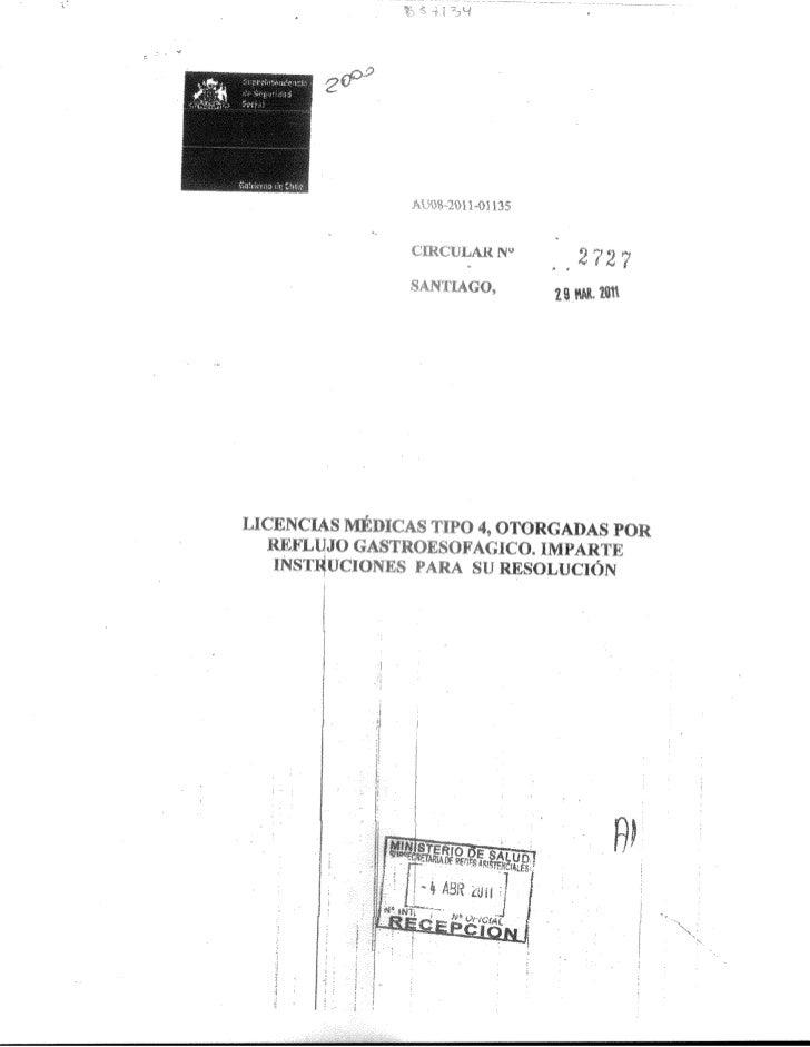 Circular n° 2727 superintendencia de pensiones
