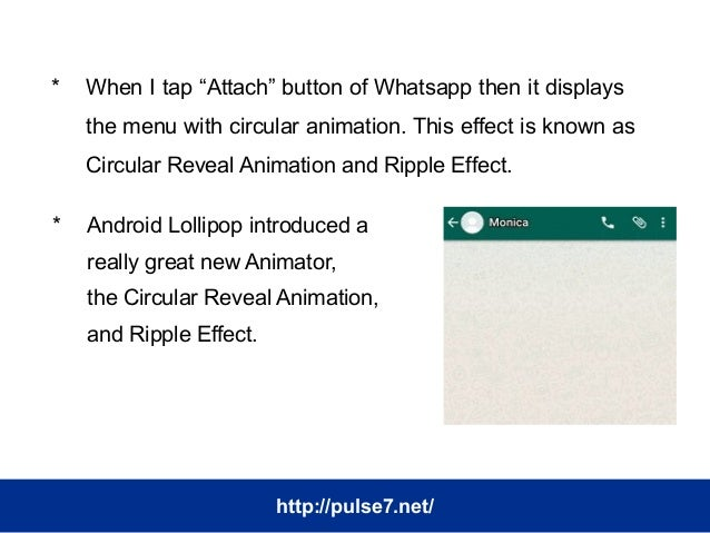 Create Circular Reveal Animation And Ripple Effect like Whatsapp