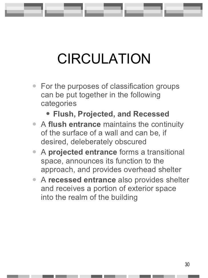 CIRCULATION <ul><ul><li>For the purposes of classification groups can be put together in the following categories </li></u...