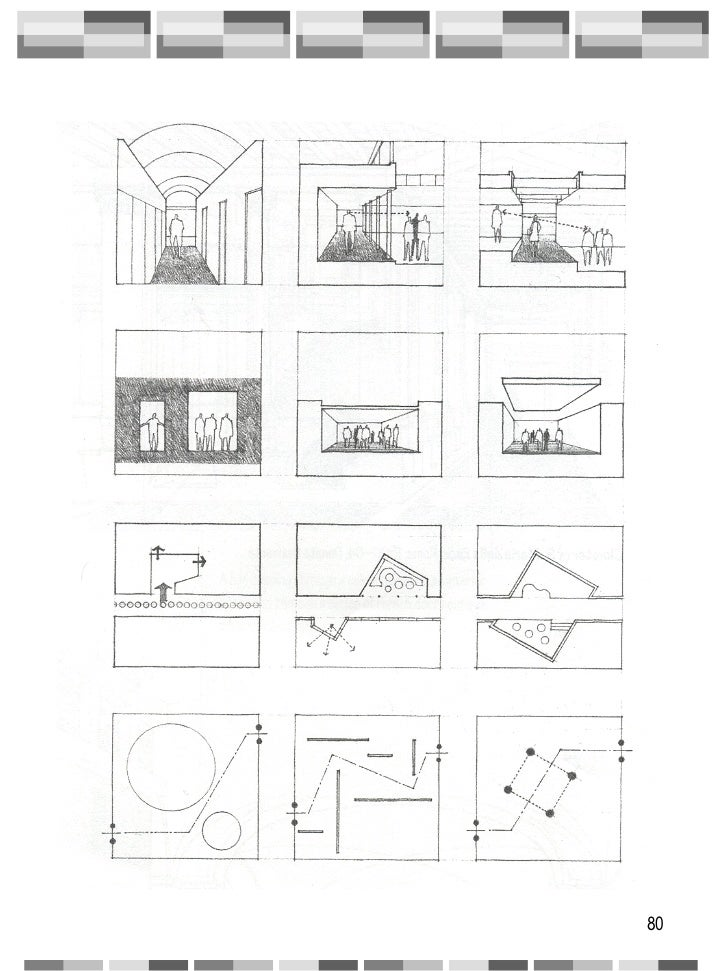 Circulation architecture for Definition of form and space in architecture