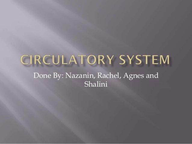 Done By: Nazanin, Rachel, Agnes and Shalini